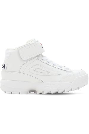 """Fila Sneakers Altas """"disruptor"""" Con Plataforma"""