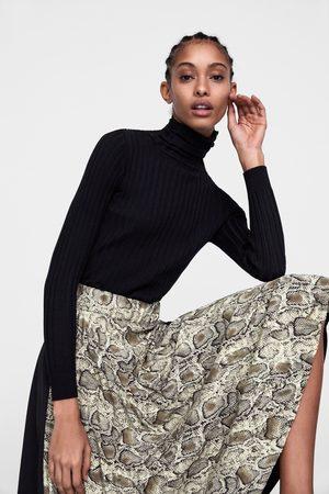 Estampado Plisada Falda Animal Estampado Animal Zara Zara Falda Estampado Zara Plisada Falda Plisada prSXFr