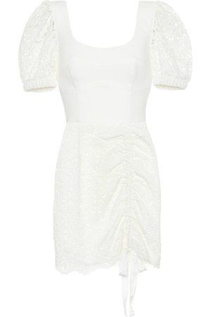 Rebecca Vallance Le Saint lace minidress