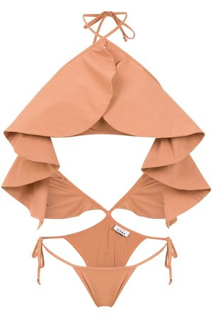 AMIR SLAMA Mujer Trajes de baño completos - Ruffled swimsuit