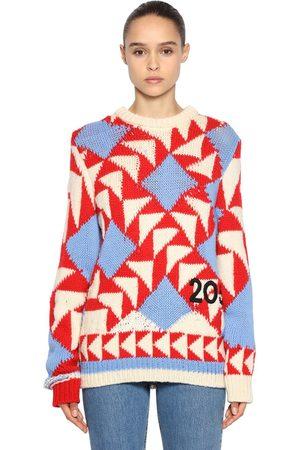 Calvin Klein Mujer Suéteres - Suéter De Lana Con Intarsia