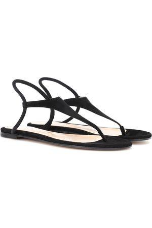 Gianvito Rossi Anya suede sandals