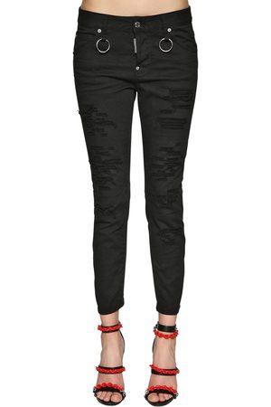 "Dsquared2 Jeans ""cool Girl Bull"" De Denim De Algodón"