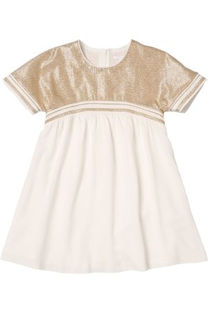 Chloé Lurex Viscose Crepe Party Dress
