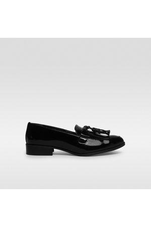 Zapatos online Mocasines de mujer color negro ¡Compara ahora y ... ea29c25c74