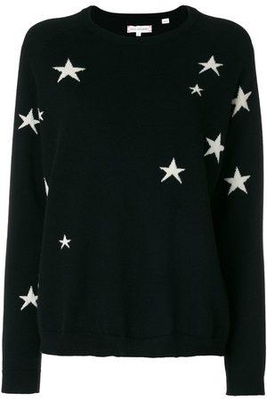 Chinti & Parker Suéter tejido con diseño de estrellas