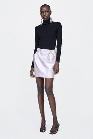 Faldas moda Faldas De Piel de mujer color multicolor ¡Compara ahora ... f20fed525e16