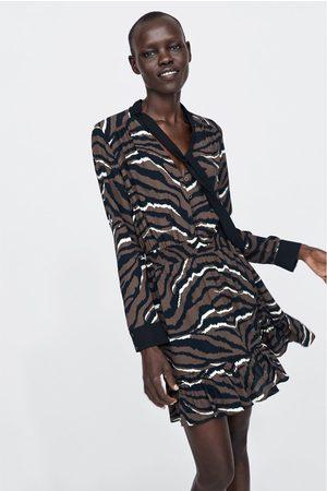 74860d7f9 De Compra Al Mujer Zara ¡compara Ahora Moda Estampados Y Vestidos ...