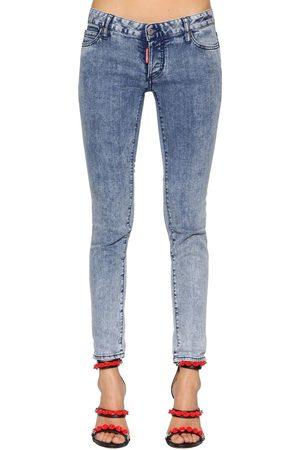 "Dsquared2 Jeans De Denim ""jennifer"" De Algodón Deslavado"