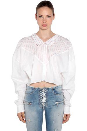 UNRAVEL Camisa Oversize De Algodón A Rayas