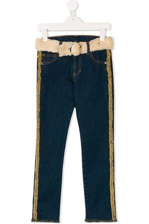 Le pandorine Jeans con cinturón