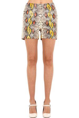 Rochas Shorts De Piel
