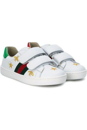Gucci Kids Niño Tenis - Zapatillas con diseño bordado