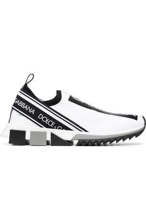 Dolce & Gabbana Tenis con logo estampado
