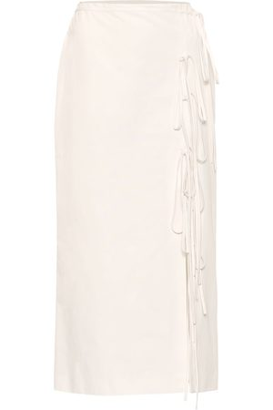BROCK COLLECTION Oleandro cotton midi skirt