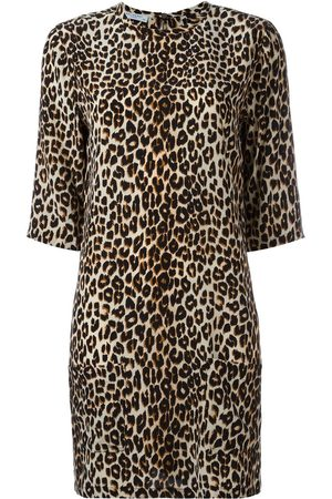 Equipment Vestido con estampado de leopardo