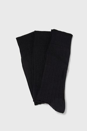 Zara Pack calcetín canalé