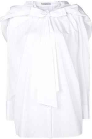 VALENTINO Camisa con botones y lazo