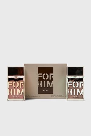Zara For him + for him silver edition 100ml
