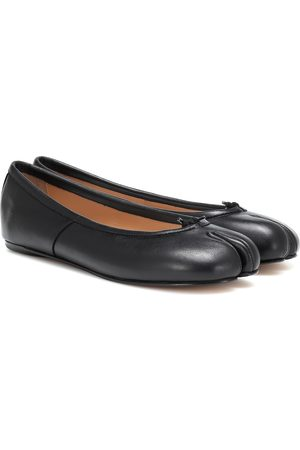 Maison Margiela Tabi leather ballerinas