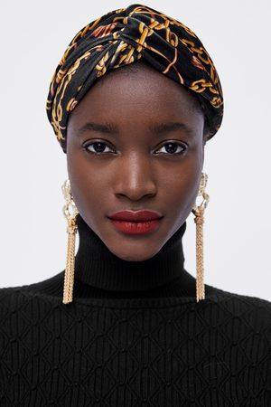 Sombreros invierno Bandas Para La Cabeza de mujer color negro ... 776c85e9eb4