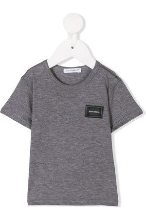 Dolce & Gabbana Camiseta con placa del logo