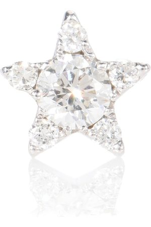 Maria Tash Diamond Star 18kt white gold and diamond single earring