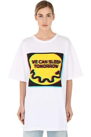 Maison Margiela Camiseta De Algodón Jersey Estampada