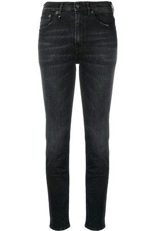 R13 Mujer Skinny - Skinny jeans de tiro alto