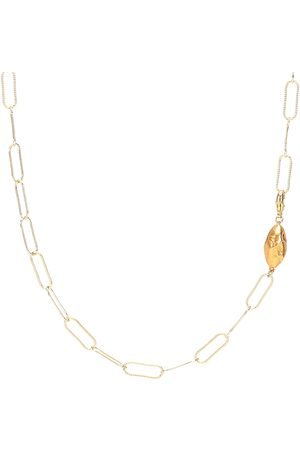 Alighieri L'Incognito 24kt gold-plated necklace