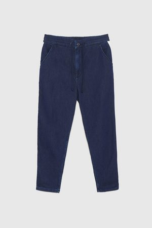 Zara CHINO DENIM BANDAS LATERALES