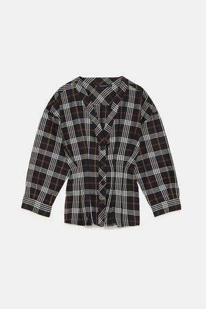41d40efcac Camisas Y Blusas de mujer Zara camisa blanca ¡Compara ahora y compra ...
