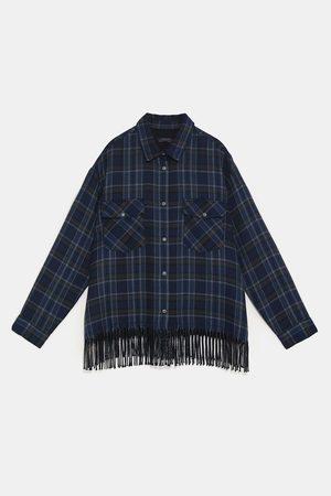 3e7def1b89 Camisa cuadros Ropa de mujer color azul ¡Compara ahora y compra al mejor  precio!