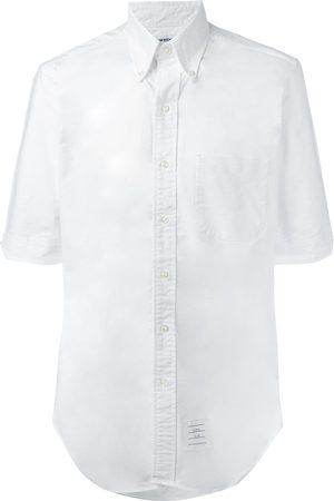 Thom Browne Camisa con bolsillo en el pecho
