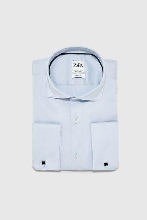 Zara Camisa estructura gemelos