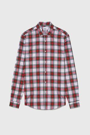Zara Hombre Camisas - Camisa cuadros