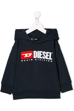 Diesel Sudadera con capucha y logo bordado