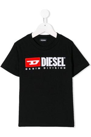 Diesel Playera con logo en contraste