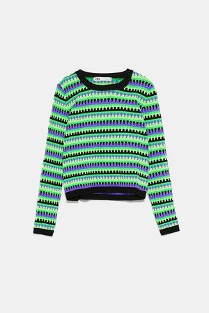 Zara Jersey estructura colores