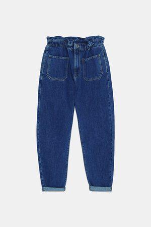 Zara Mujer Anchos y de harem - Jeans z1975 baggy bolsillos
