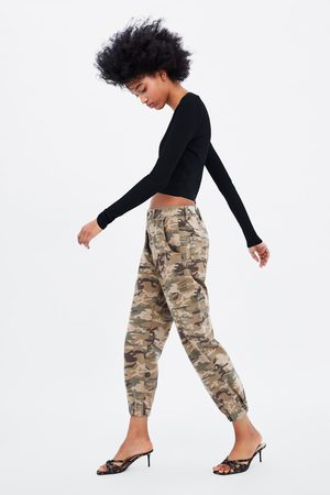 Ropa Zara Pantalones Camuflaje Para Mujer Fashiola Mx