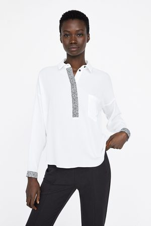 Zara Camisa tapeta estampado animal