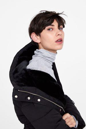 Zara Al De Y Compra Mujer Abrigo Capucha Ahora Abrigos ¡compara qw1AaE