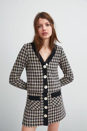 Zara Cuerpo tweed botones