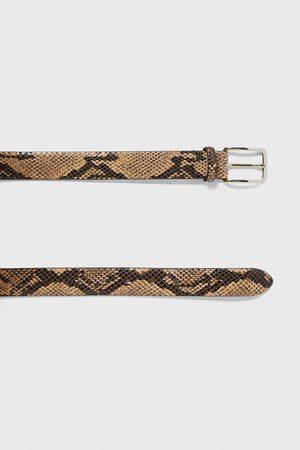 Zara Hombre Cinturones - Cinturón acabado