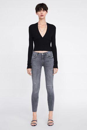 Zara Jeans zw premium skinny inox grey