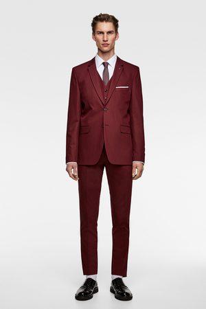 Zara Chaleco conjunto cinzato confort tailoring