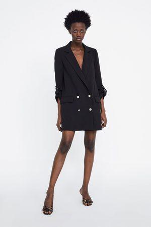 Zara Mujer Sacos - Blazer cruzada botones