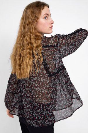Zara Mujer Blusas - Blusa estampado floral
