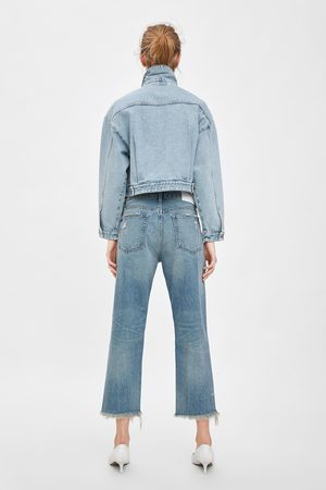 Zara Mujer Rectos - Jeans mid rise straight